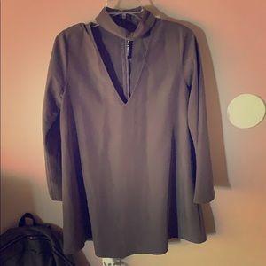 Long sleeve/ loose fitting dress